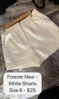 Forever New Shorts - Size 6