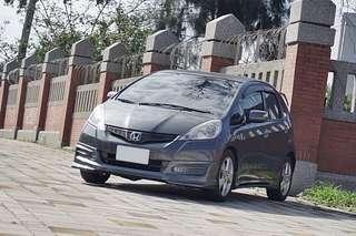售2013年出廠 FIT VTI-S 頂級 一手 原鈑件 可鑑定試車全額貸 恆溫.撥片.定速.4安 0987707884