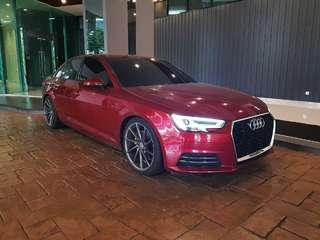 Audi A4 2.0 for rent