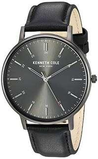 Men's Kenneth Cole New York Slim Watch Brown Dial Watch KC50394001