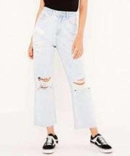 Glassons crop jeans