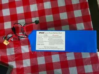 36v 10.4ah DYU STOCK BATTERY (NEW) ABLE TO NEGO