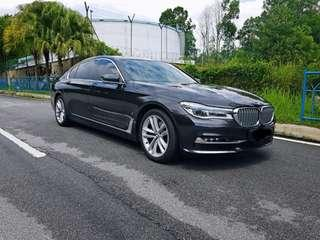 BMW 740 le for rent