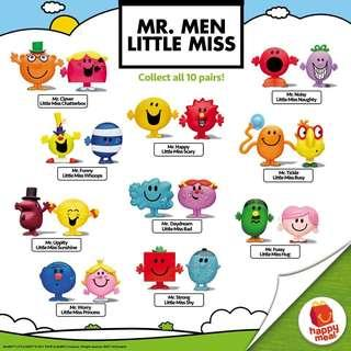 [Instock] Mr Men and Little Miss Macdonald Toy set