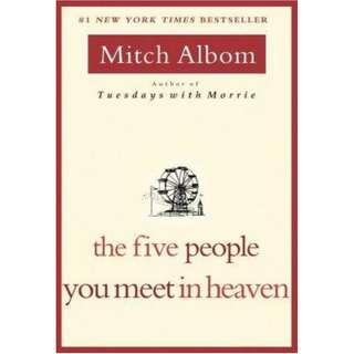 Five People You Meet in Heaven 學英文 <在天堂遇見的五個人> 推介 Original Price: $107