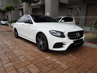 Mercedes Benz E350e for rent