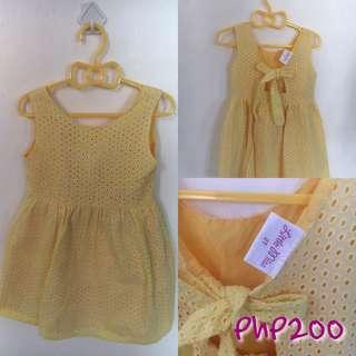 Little Miss Yellow Dress