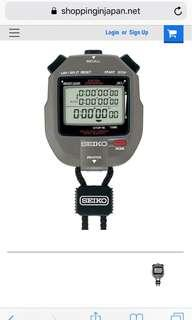 Immaculate Seiko S143 300 Lap Stopwatch with Printer Port