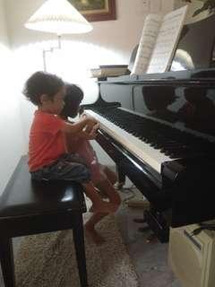Private Piano Lessons @ kelana jaya