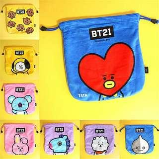 [PO] BT21 Unofficial Drawstring Bag