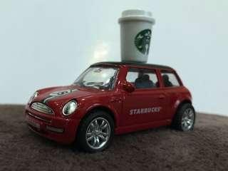 Limited Edition 18th Anniversary Starbucks Miniature Car