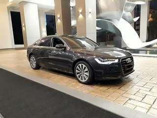 Audi A6 Hybrid for rent