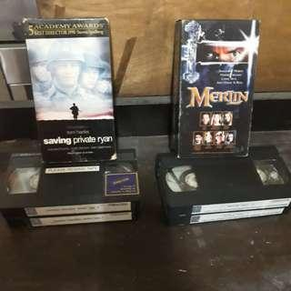 VHS Movies (Part 1&2)