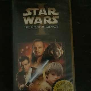 Star Wars VHS Tape