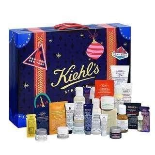 Kiehls advent calendula xmas 2018 聖誕節倒數月曆 (原價$680) 全新