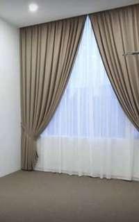 New Curtain Sliding Door