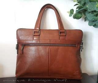 Office bag Septwolves Leather Size 36×27 Original WA 081372956007