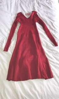 [WTS] RED DRESS BODY FITTING