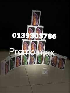 IPhone X's max 256gb 4299rm0139303786