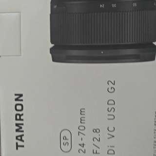 Tamron 24-70mm Di VC USD G2 NIKON