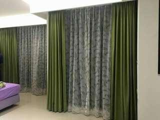 全館💥買一送一💥,年底前做窗簾再打八折。