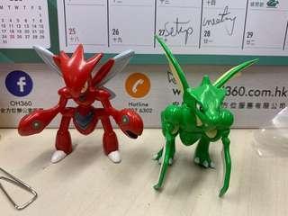 寵物小精靈 Pokemon mc 飛天螳螂