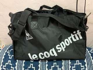Le coq sportif 黑色 大容量 斜揹 單揹 手挽袋 實用 運動袋