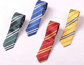🚚 4 colour Harry Potter inspired Ties (no more red colour, gryffindor)