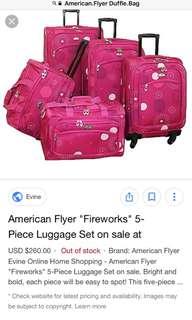 aaa4fb7d26 American Flyer Wheeled Duffle Luggage Bag Best for Biyahera