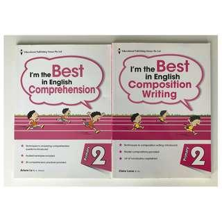 P2 English Comprehension and Composition Writing workbooks