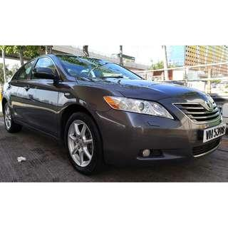 TOYOTA CAMRY 2.4 2007 LEATHER PACKAGE