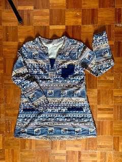 🚚 BN Mandarin Collar Shift Dress