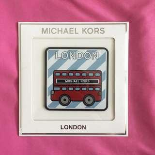 Original Michael Kors Luxe Leather Stickers