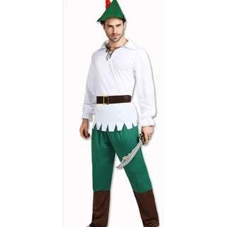 Peter Pan Fairy Pixie Dress Up Halloween Year End Party Costume Rental