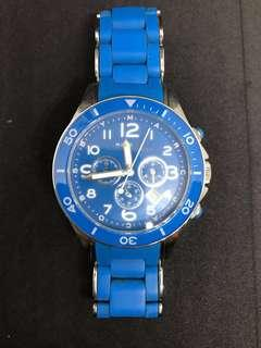 Marc Jacobs watch Rock Bright Blue  Authentication number : MBM2575