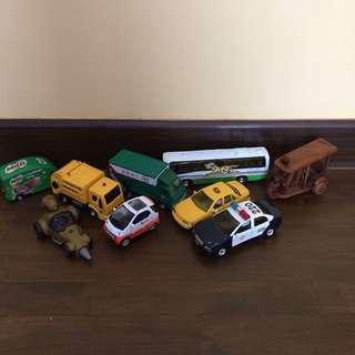 Preloved Toy Vehicles