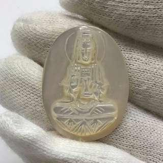 🚚 Guan Yin Mother of Pearl Carving