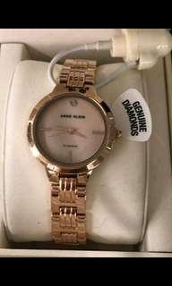Authentic Anne Klein Watch with diamonds 😍