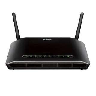 D-Link Wireless N300 Adsl2+ Modem Router