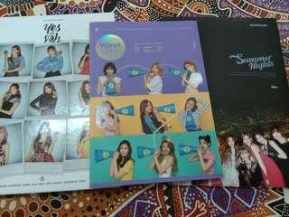 Clearance Twice Album (dance the night away / what is love / yes or yes)