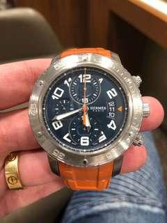 Hermes Men Diver Clipper Chronograph