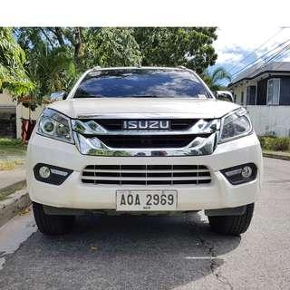 Isuzu MUX 2015 LS-A 4x4 Automatic Top of the Line