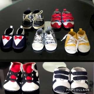 A bundle of Pre walker Baby boy/girl unisex Shoes