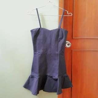 #264 Mini Black Dress Bodycon