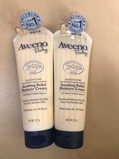 Aveeno Baby Smoothing Relief Moisture Cream 嬰兒舒緩滋養護膚霜 227g