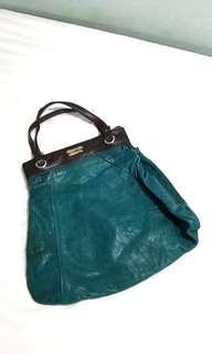 chloe turqoise bag