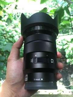 Lensa Sony E PZ 18-105mm G OSS a5000 a5100 a6000 a6300 a6500