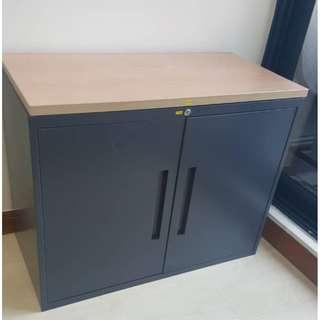 Vanguard-2 Doors Low Storage Cabinet With Top