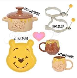 日本Winnie the Pooh 碗碟