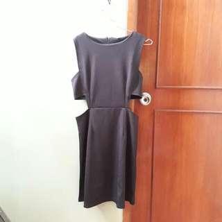 #126 Dress Mini Black Bodycon